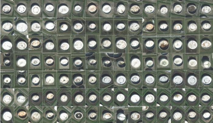 Oil Barrel'in uydular tarafından yakalanan görüntüleri